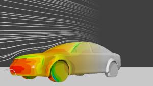 Aerodynamique externe vehicule